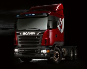 Картинка автомобили scania king of the road r580