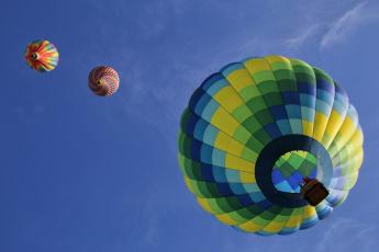 обоя авиация, воздушные шары, шар, фон, небо
