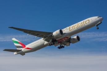 обоя boeing 777, авиация, пассажирские самолёты, авиалайнер