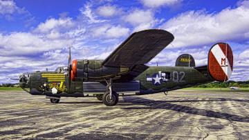обоя b-24 liberator, авиация, боевые самолёты, бомбардировщик
