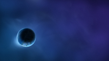 обоя космос, земля, звезды, вселенная, планета
