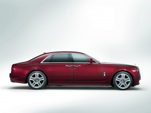 обоя rolls-royce ghost 2014, автомобили, rolls-royce, 2014, ghost