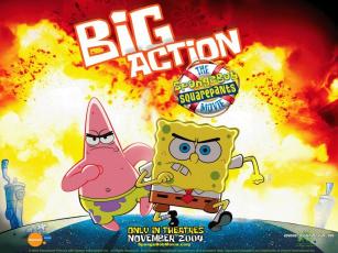 обоя sponge, bob, мультфильмы, spongebob, squarepants