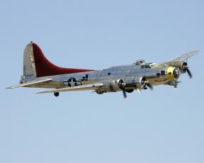 Картинка авиация боевые самолёты miss+angela b-17g+flying+fortress