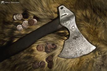 Картинка оружие холодное монеты секира топор