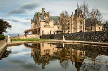 обоя города, - дворцы,  замки,  крепости, дворец, парк