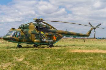 обоя mi-17v-5, авиация, вертолёты, вертушка