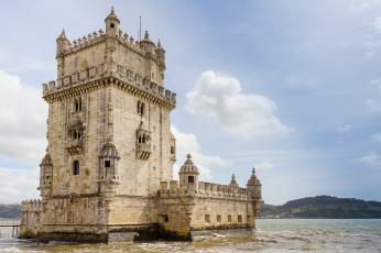 обоя torre de bel&, 233, города, - дворцы,  замки,  крепости, фортпост