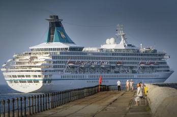 обоя ms artania, корабли, лайнеры, круиз, лайнер
