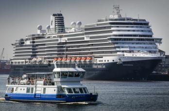 обоя ms koningsdam, корабли, разные вместе, круиз, лайнер