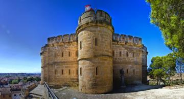обоя torre de salamanca,  caspe, города, - дворцы,  замки,  крепости, фортпост