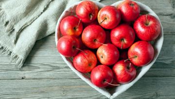 обоя еда, Яблоки, фрукты