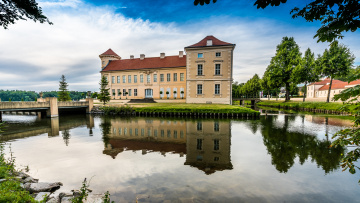 обоя rheinsberg palace, города, - дворцы,  замки,  крепости, дворец, парк