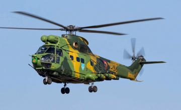 обоя iar-330l, авиация, вертолёты, вертушка