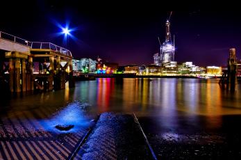 Картинка города лондон великобритания hdr
