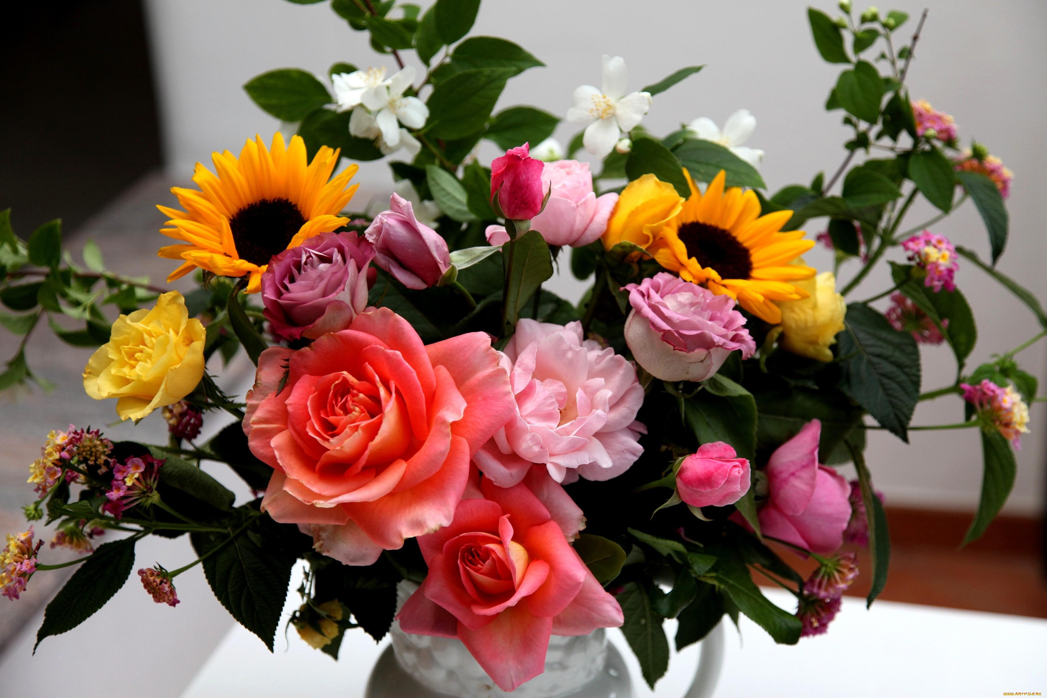 Самые красивые букеты цветов картинки большого разрешения, открытки днем