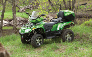 Картинка arctic cat мотоциклы квадроциклы квадроцикл
