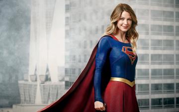 обоя кино фильмы, supergirl , сериал, melissa, benoist, supergirl