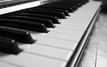 обоя музыка, -музыкальные инструменты, пианино, рояль, клавиши, макро