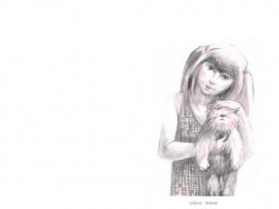 Картинка рисованные дети