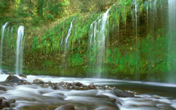 Картинка природа водопады