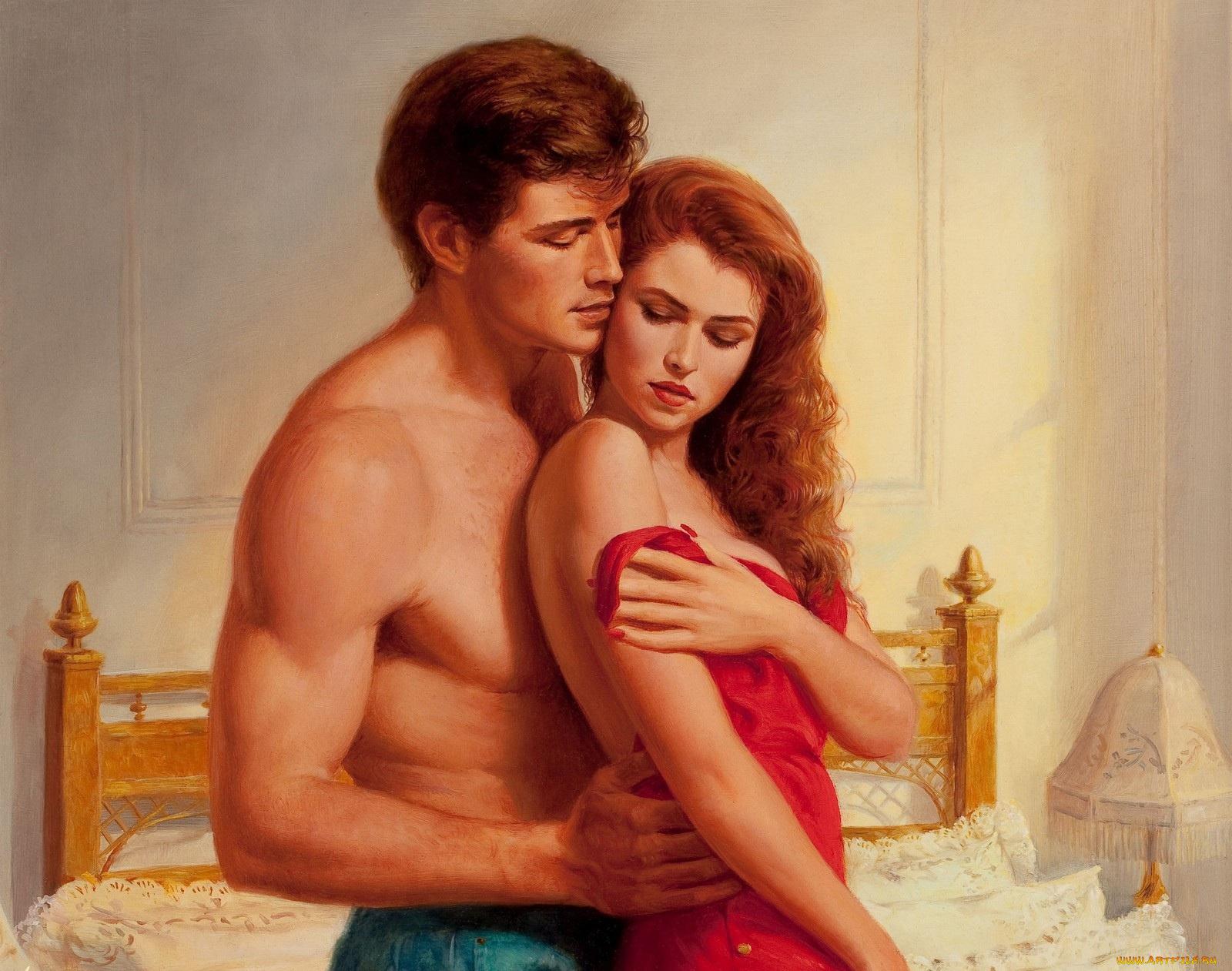 Любовный роман женщина с мужчиной в кровати видео, порно французские горничные