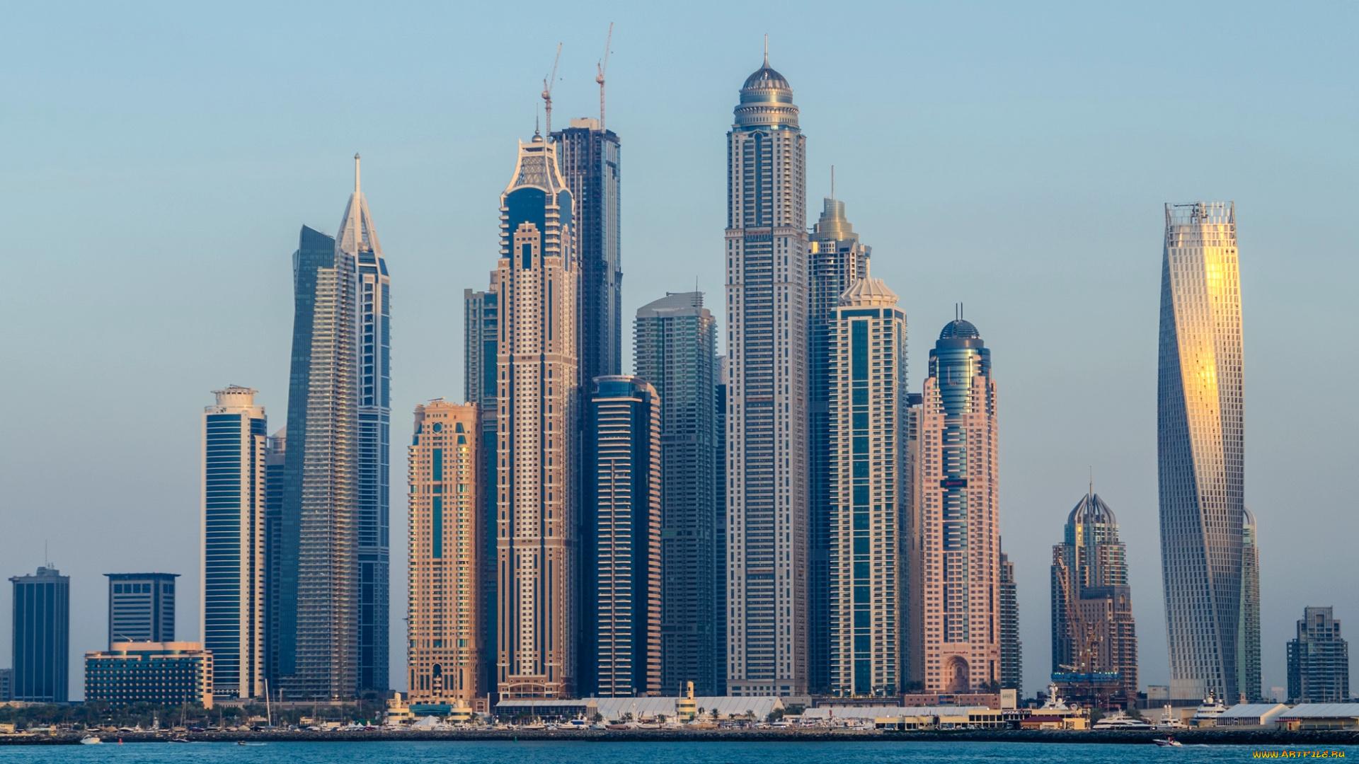 город ОАЭ дубаи-марина небоскреб высота скачать