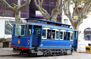Картинка техника трамваи трамвай рельсы транспорт