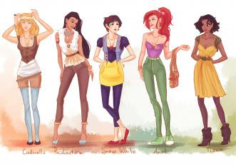 обоя рисованное, комиксы, имя, одежда, фон, девушки