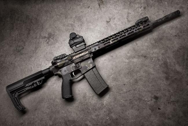 Обои картинки фото оружие, автоматы, штурмовая, винтовка, axelson, night, axe
