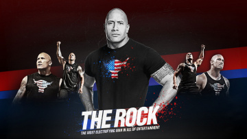 обоя dwayne, johnson, мужчины, the, rock