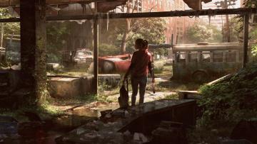Картинка видео+игры the+last+of+us us элли город last the руины запустение экшен of игра