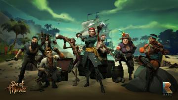 Картинка sea+of+thieves видео+игры приключения адвенчура action sea of thieves