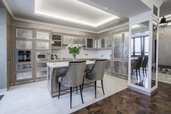 обоя интерьер, кухня, стиль, дизайн