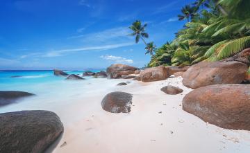 обоя природа, тропики, острова, океан