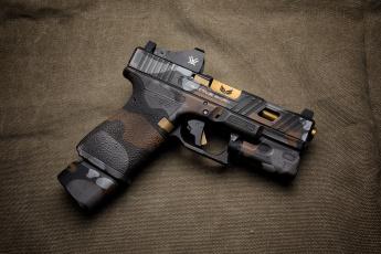 обоя оружие, пистолеты, стиль, glock, фон, пистолет