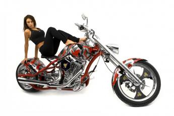 Картинка мотоциклы мото+с+девушкой байк модель