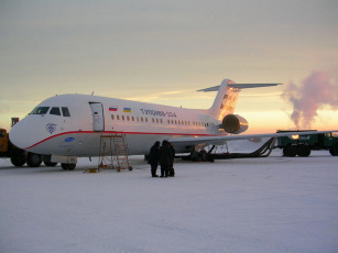 Картинка ту 334 Якутске авиация пассажирские самолёты