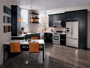 обоя кухня, интерьер, мебель