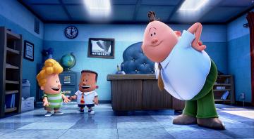 обоя мультфильмы, captain underpants, captain, underpants