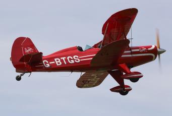 обоя eghn sandown, авиация, лёгкие одномоторные самолёты, биплан