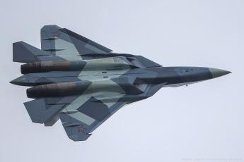 Картинка авиация боевые+самолёты многоцелевой сверхзвуковой небо истребитель пак фа т-50 самолет