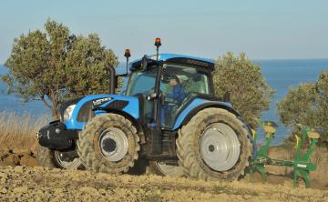 Картинка техника тракторы landini
