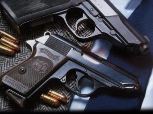 обоя walther, p5, ppk, оружие, пистолеты