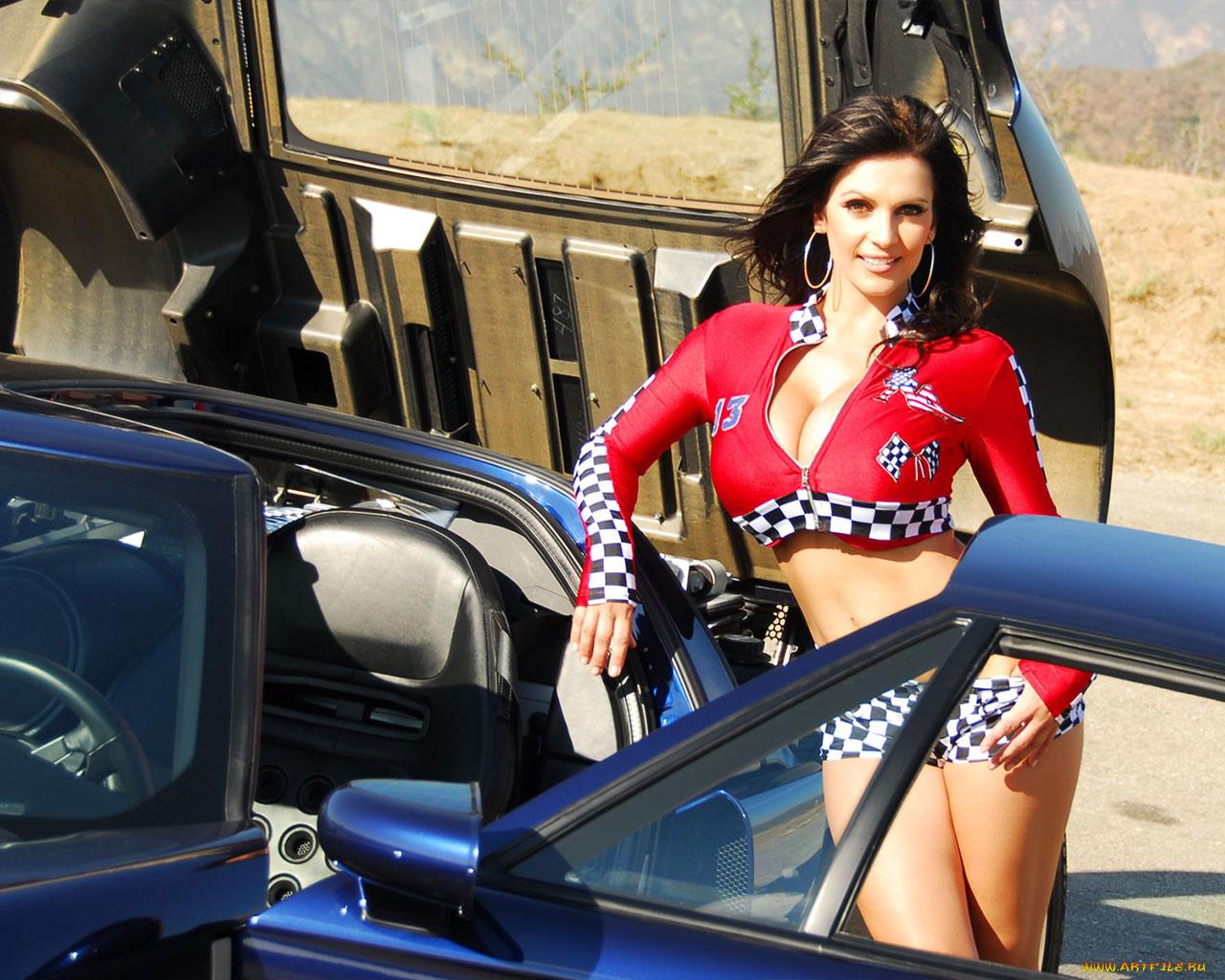 Большая грудь в машине, юлия паго порно фото