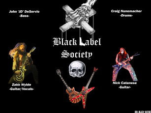 Картинка black label society музыка