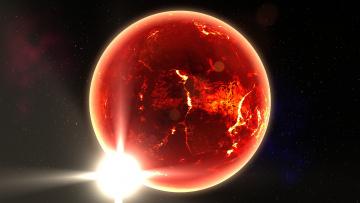 Картинка космос арт звезды гибель катастрофа планета