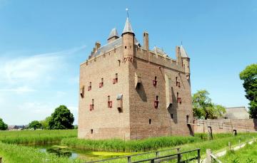 Картинка doornenburg+castle города замки+нидерландов doornenburg castle
