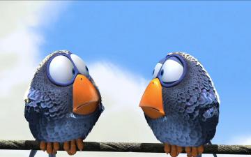 Картинка мультфильмы for the birds птица