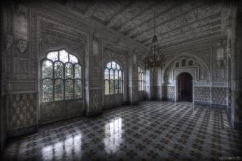 Картинка интерьер дворцы музеи люстра декор резьба зал дворец